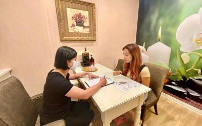 台北永和佳利安『愛水』婦科按摩體驗,穴道按摩也促進血液循環!